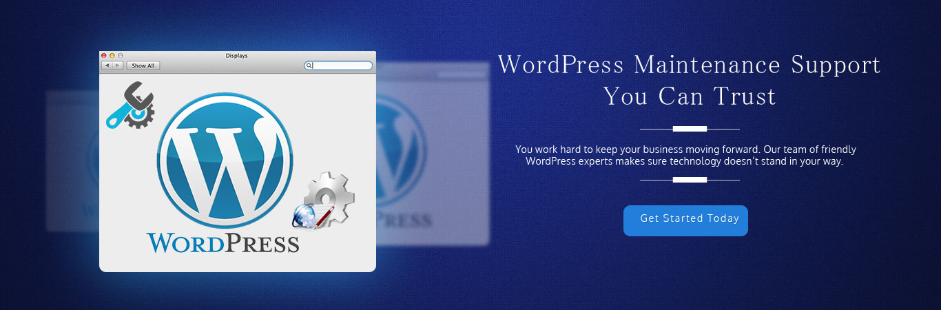 WordPress Website Maintenance Services and Packages